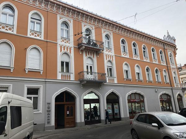 Avocat Oradea - Cabinet Rusu Cristian fotografie din strada